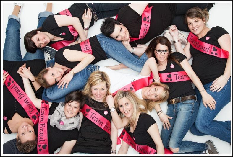 Ein tolles Fotoshooting zum Junggesellinenabschied in Düsseldorf