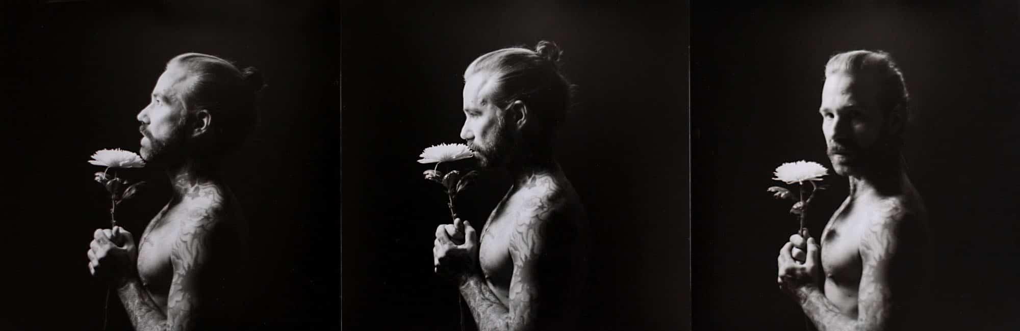 Das besondere Fotoshooting: Analoge Portraitfotos im Fotostudio bei Fotograf Christian Holthausen Photography