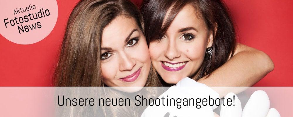 Banner Fotoshooting Neue Shootingangebote