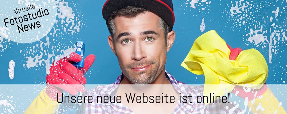 Banner Fotoshooting Neue Webseite
