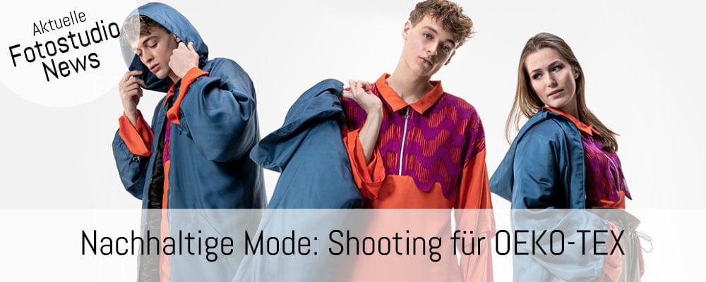 Banner Fotoshooting Oekotex shooting