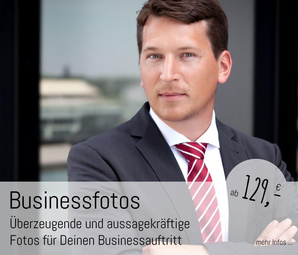 Überzeugende Businessfotos und Businessportraits im Fotostudio Düsseldorf