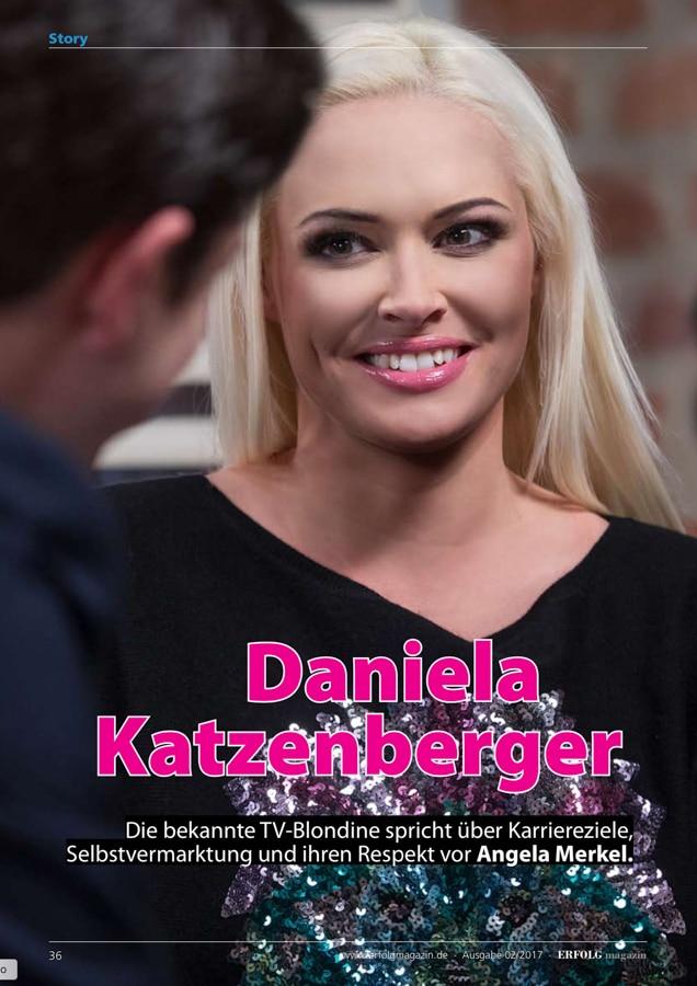 TV und Reality Star Daniela Katzenberger in einer Fotostrecke von Christian Holthausen