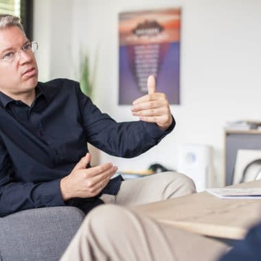 Investor und TV Star aus die Höhle der Löwen Frank Thelen von Fotograf Christian Holthausen