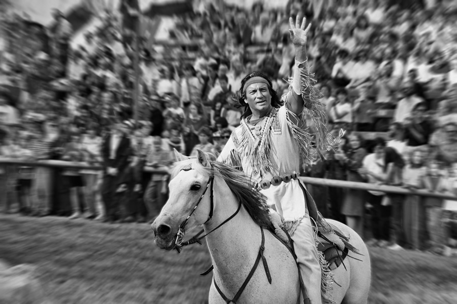Der legendäre Winnetou Darsteller Pierre Brice fotografiert von Christian Holthausen