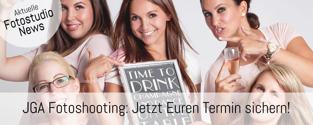 Junggesellinnenabschied Fotoshooting in Düsseldorf