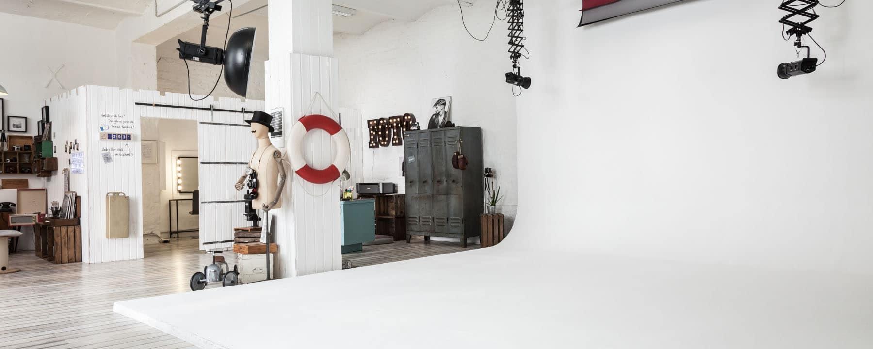 Das Fotostudio in Düsseldorf Unterbilk