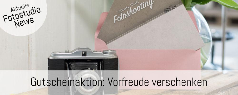 Banner Fotoshooting Gutscheinaktion