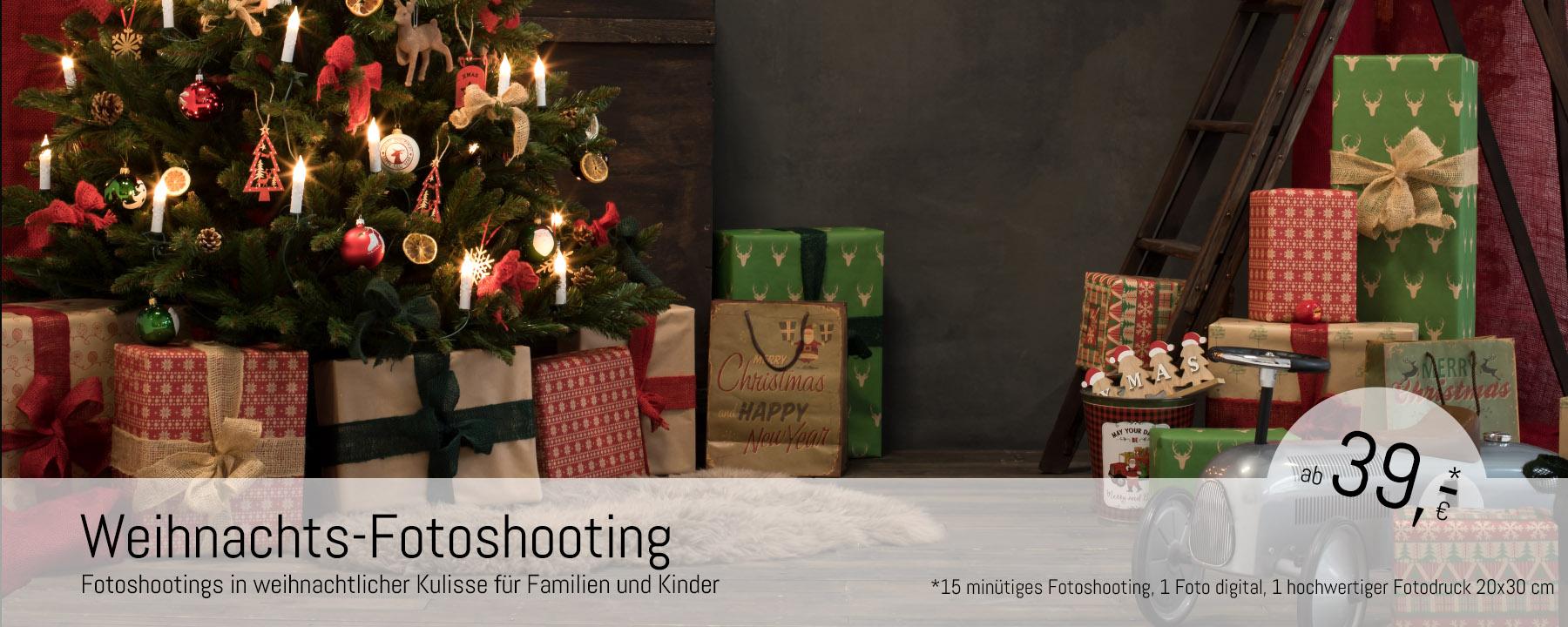 Weihnachtsfotoshooting in Düsseldorf
